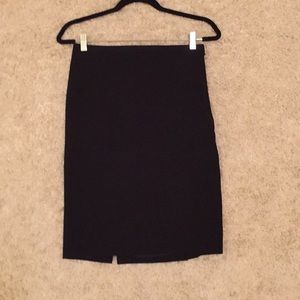 BCBG MaxAzria Black pencil skirt